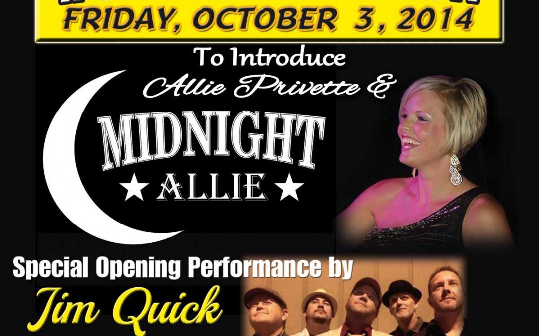 Midnight Allie Debut