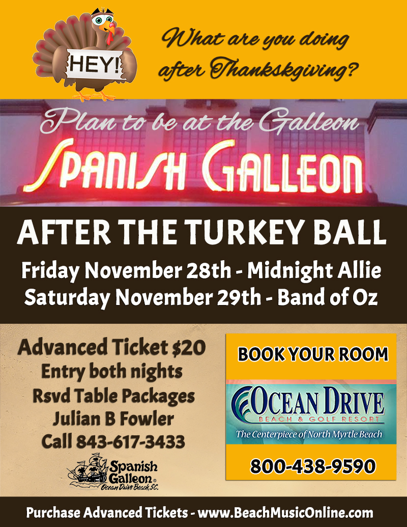 Upcoming Events After The Turkey Ball North Myrtle Beach